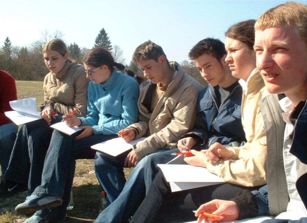 Arbeitsgruppe outdoor